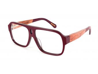 MERCURY  RED  Wood frame